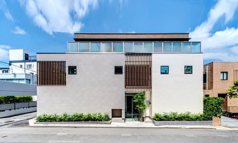 Rumah oleh TERAJIMA ARCHITECTS, Modern Batu