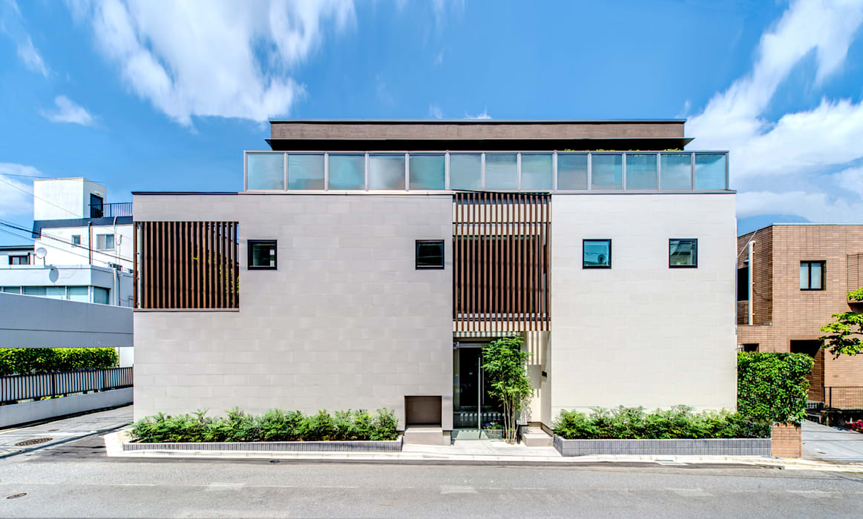 Houses by TERAJIMA ARCHITECTS, Modern Stone