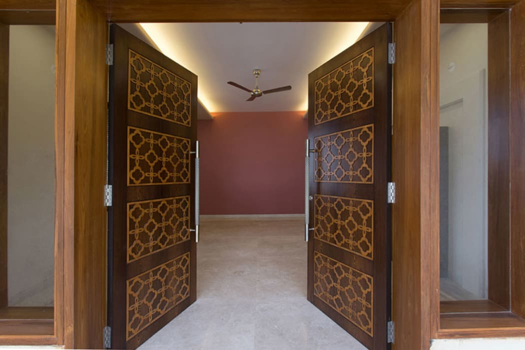 Bangalore Villas Spaces and Design Modern windows & doors