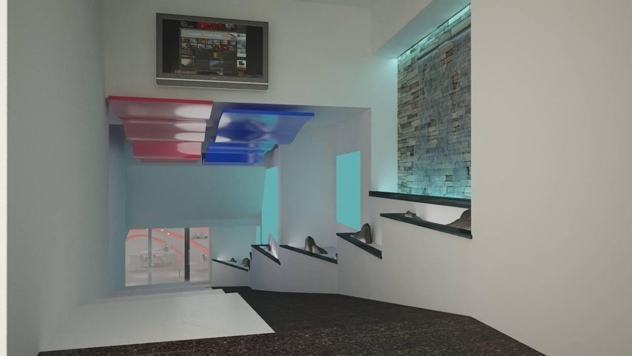 Rendering: Negozi & Locali commerciali in stile  di Pardo Gaetano Architetto