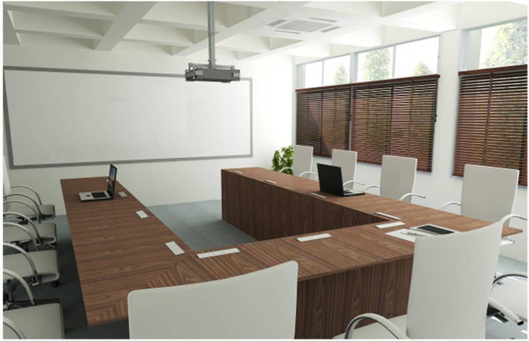 Symbiosis Project:  Study/office by Saloni Narayankar Interiors,