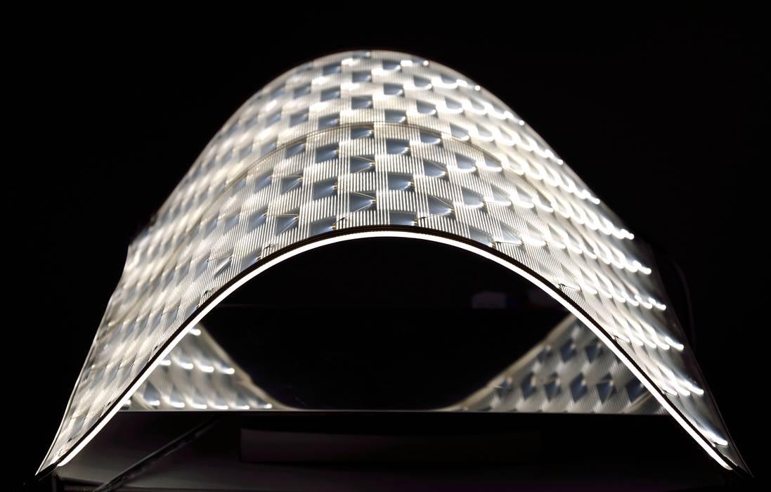 revolite LED Wandleuchte Mura Dietmar Tappe revolite ArbeitszimmerBeleuchtungen Metall Transparent