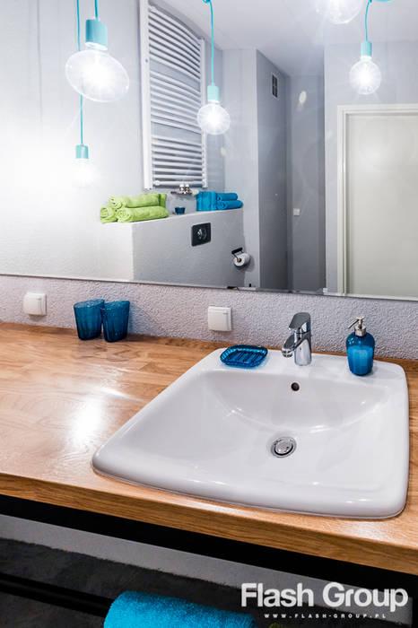 Ausgefallene Badezimmer von dekoratorka.pl Ausgefallen