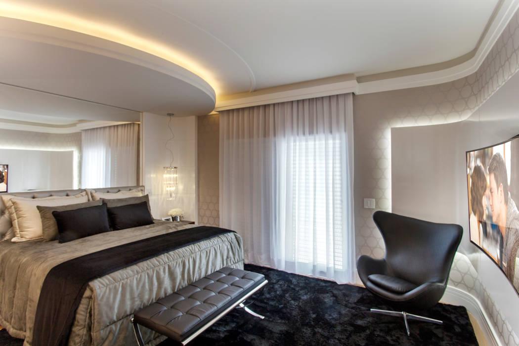 Kamar Tidur Modern Oleh Arquiteto Aquiles Nícolas Kílaris Modern