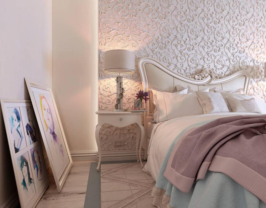"""Спальня """"Неоклассика"""" vol.3: Спальни в . Автор – Студия дизайна Дарьи Одарюк, Классический"""