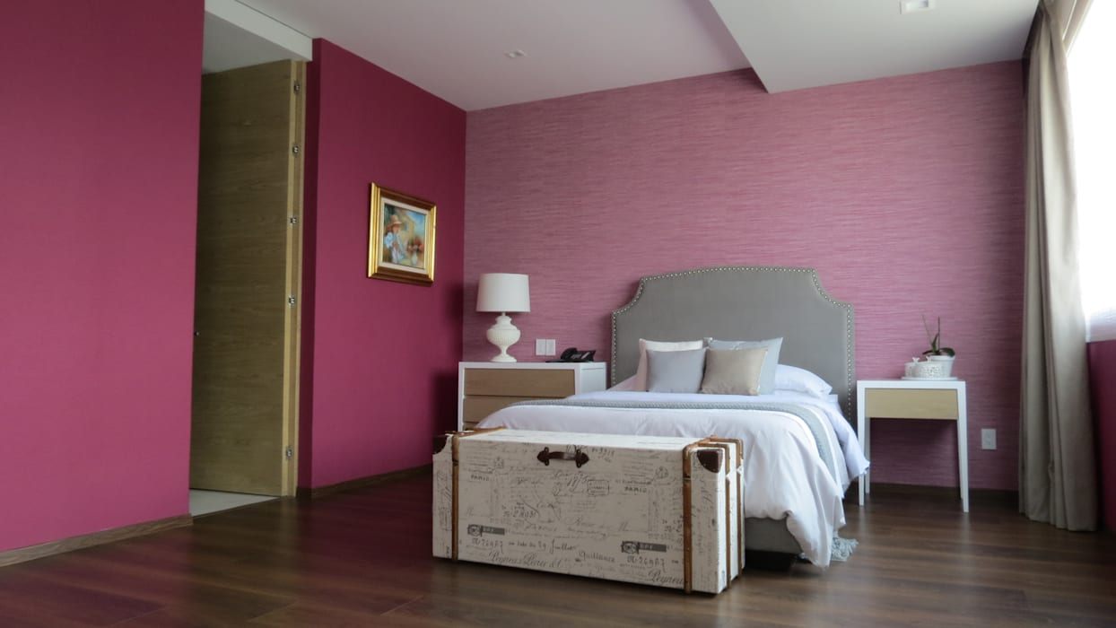 Bedroom by NIVEL TRES ARQUITECTURA, Modern