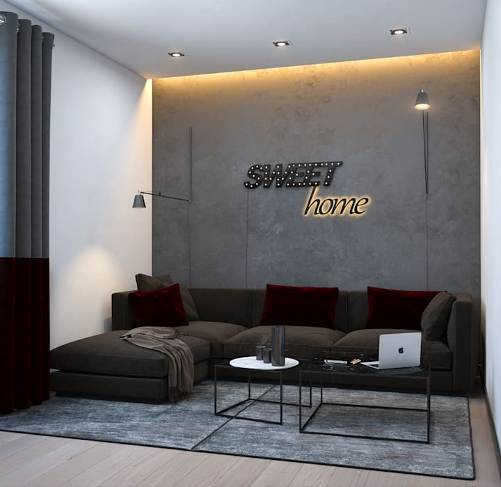 SVAI Studio minimalist style media rooms