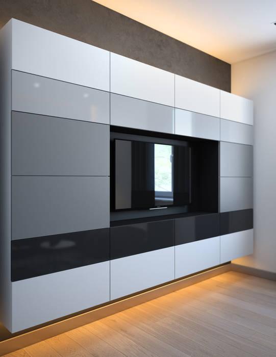 Relax room SVAI Studio Медиа комната в стиле минимализм