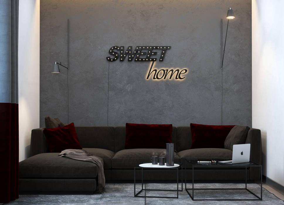 SVAI Studio Sala multimediale minimalista