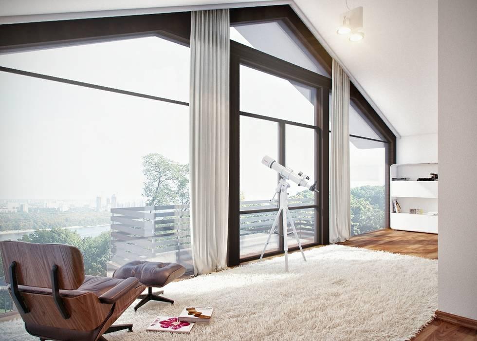 Projekty,  Salon zaprojektowane przez clear-house