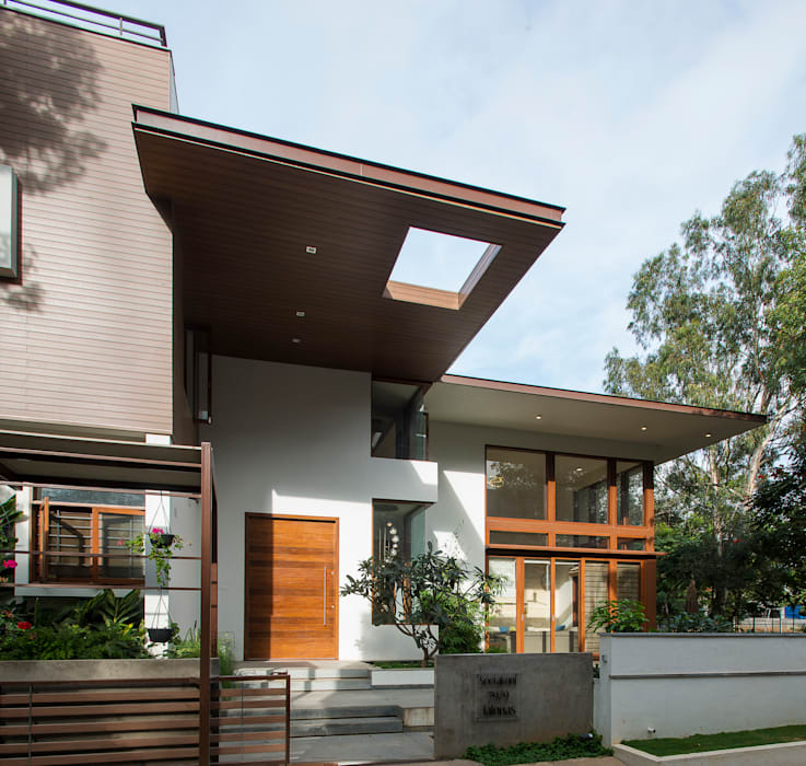 Entry Modern home by studio XS Modern