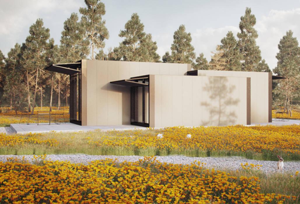 Casas modulares Casas minimalistas por ASVS Arquitectos Associados Minimalista
