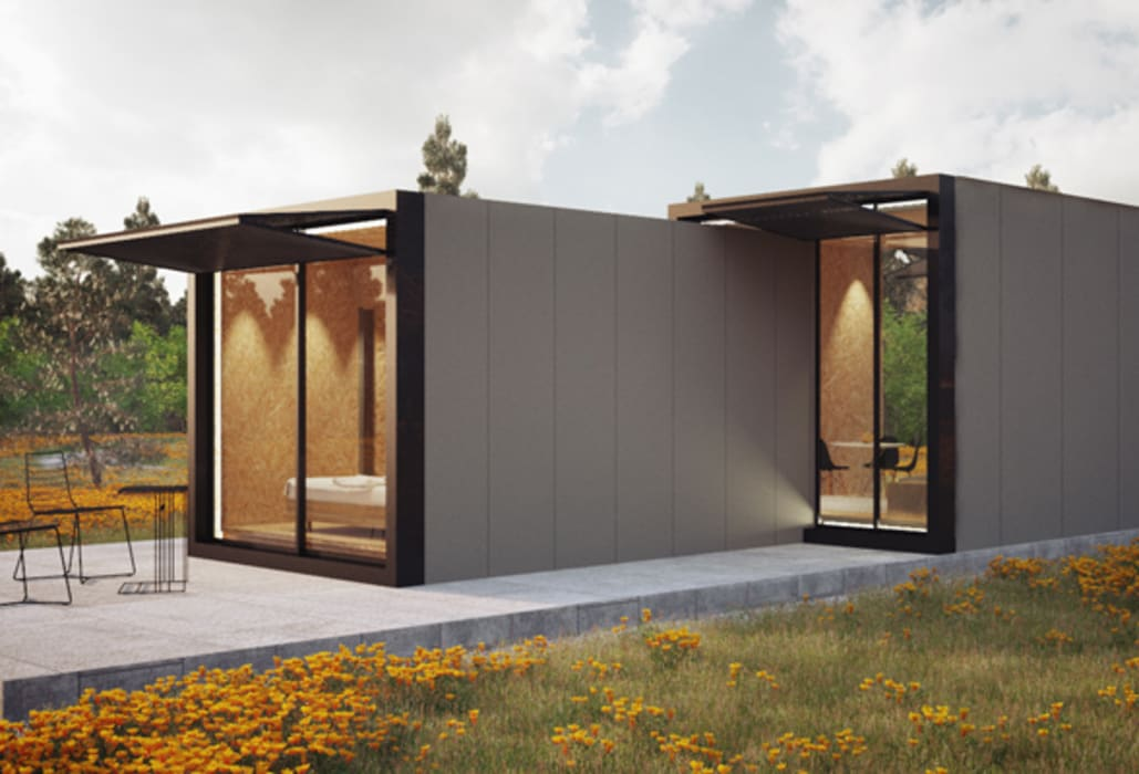 Casas de estilo  por ASVS Arquitectos Associados,