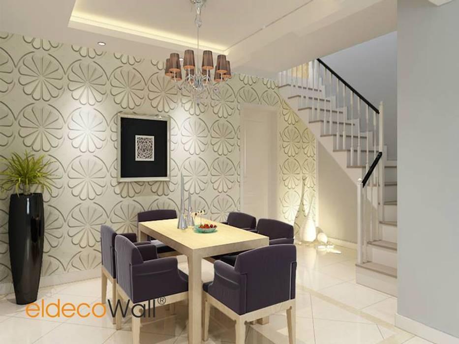 Eldeco Yapı Dekorasyon ve Kimya Sanayi Dış Tic Ltd. Şti. Pareti & Pavimenti in stile moderno