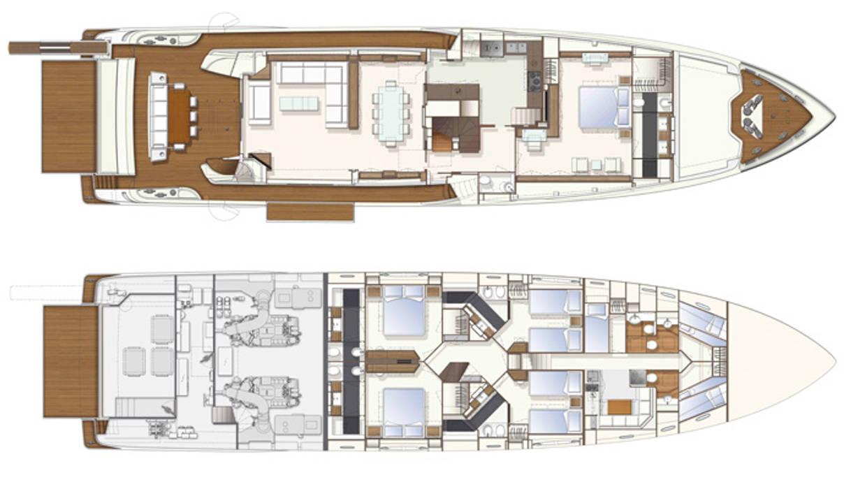 Yacht Custom Line 100 Silvia Costa | Arquitectura de Interiores CasaAcessórios e Decoração