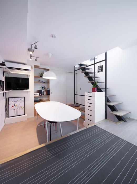 토맥건축사사무소 Modern dining room