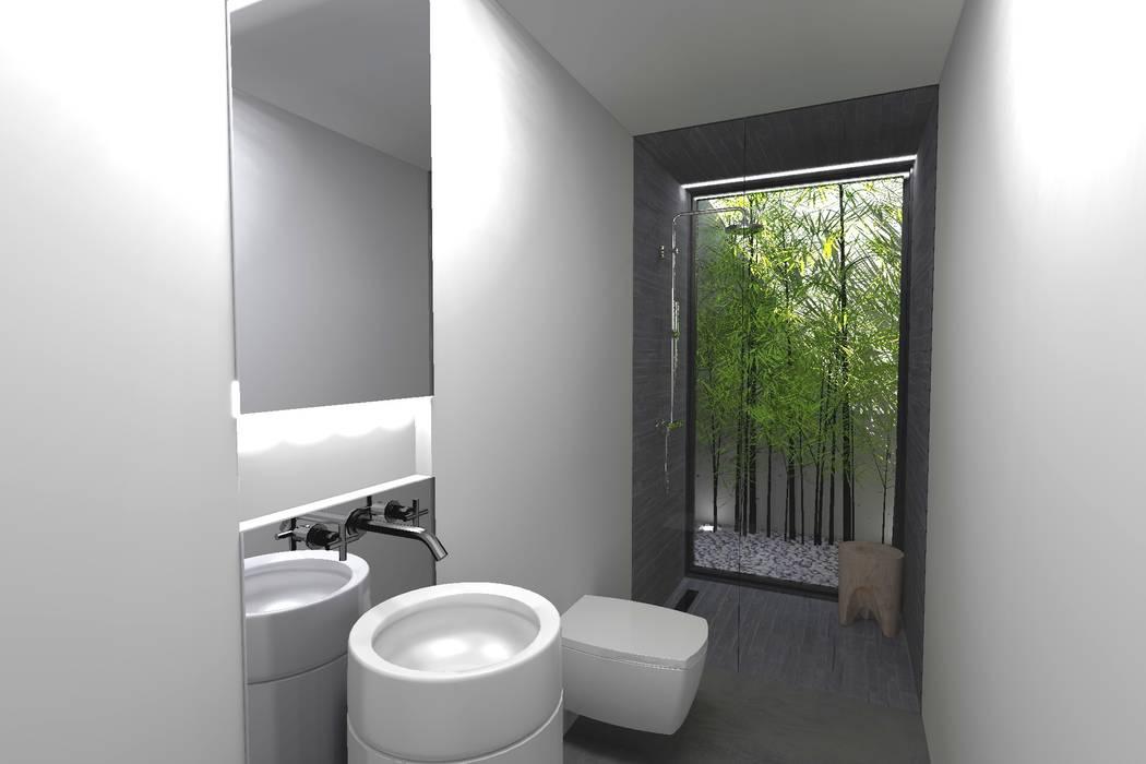 Baños de estilo  de Colectivo de Melhoramentos