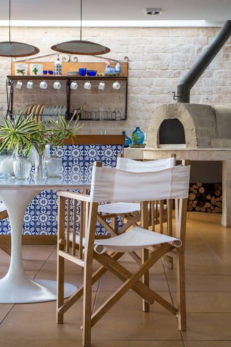 Maria Claudia Faro Kitchen units Tiles Blue