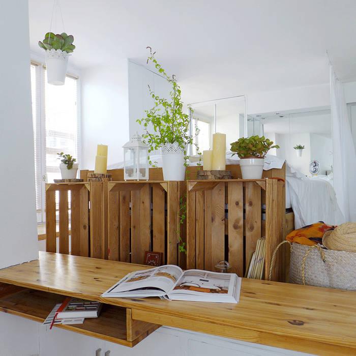 Un bureau original et sur mesure : Bureau de style  par Skéa Designer