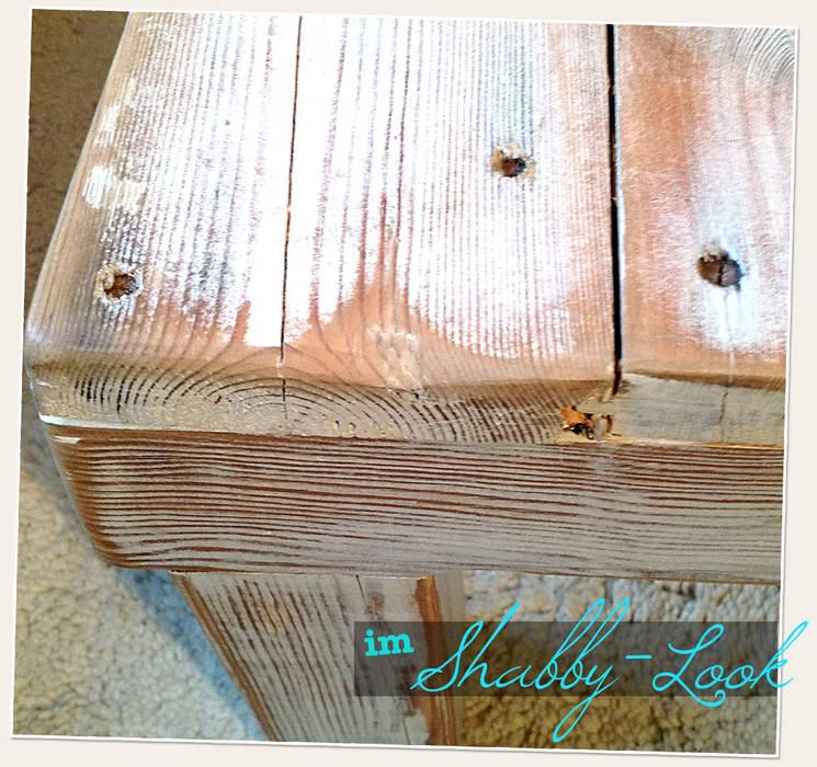 Shabbylook im Detail LYBSTES. Industriale Wohnzimmer