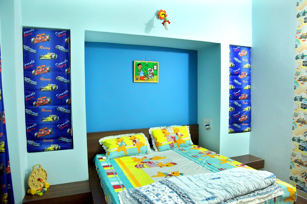 Kids Bedroom Modern style bedroom by ZEAL Arch Designs Modern