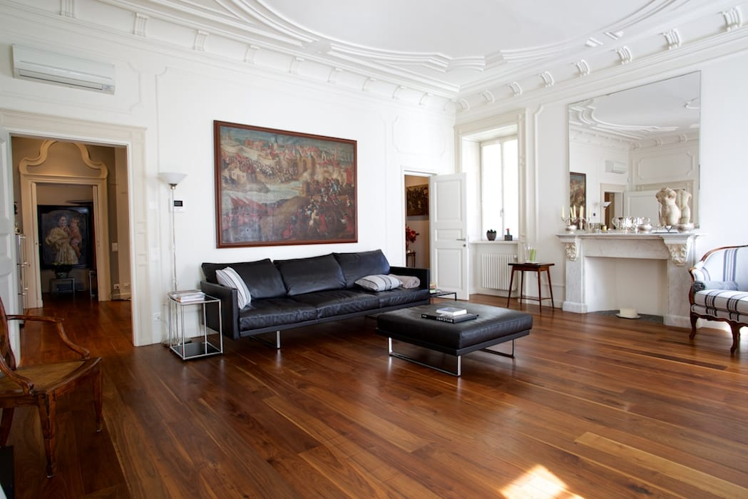 il living: Soggiorno in stile in stile Moderno di DF Design