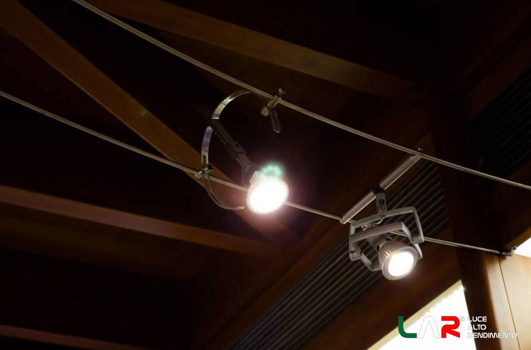 Illuminazione negozi locali commerciali in stile di lar luce