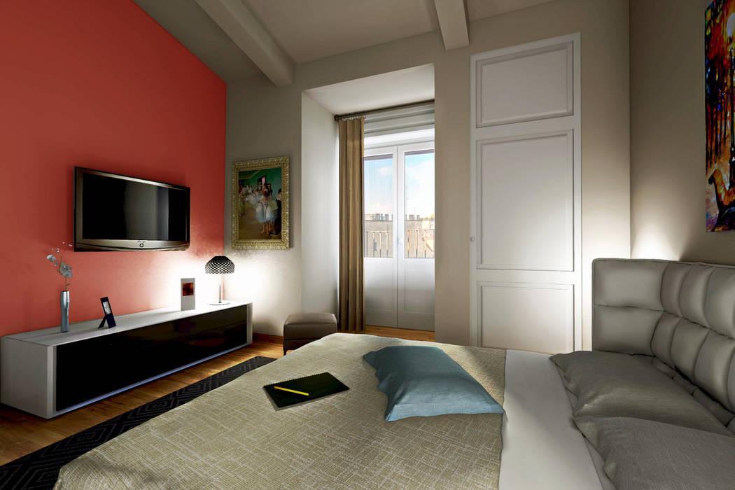 Modern style bedroom by AAA Architettura e Design Modern