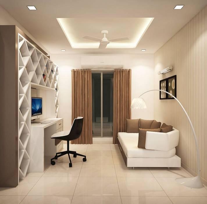 4 Bedroom Apt: 4 Bedroom Apartment At Sjr Watermark: Living Room By Ace