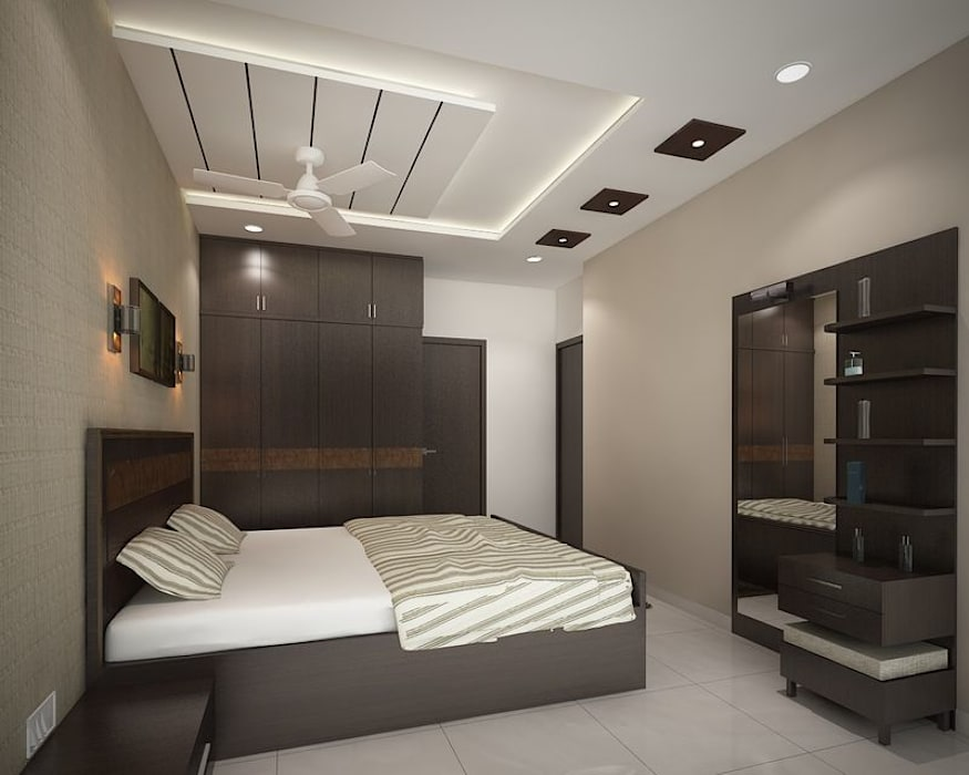 4 bedroom apartment at SJR Watermark:  Bedroom by ACE INTERIORS