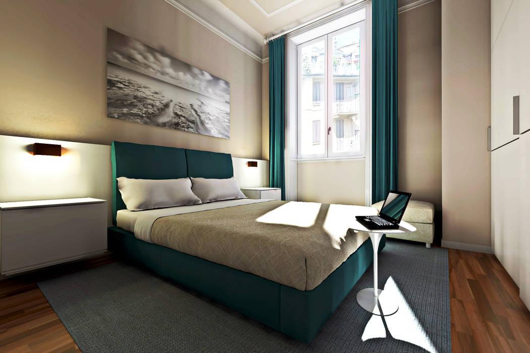 Moderne slaapkamers van Studio di Architettura Tundo Modern
