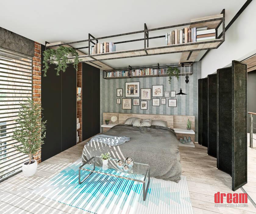 Eclectic style bedroom by Estudio Meraki Eclectic