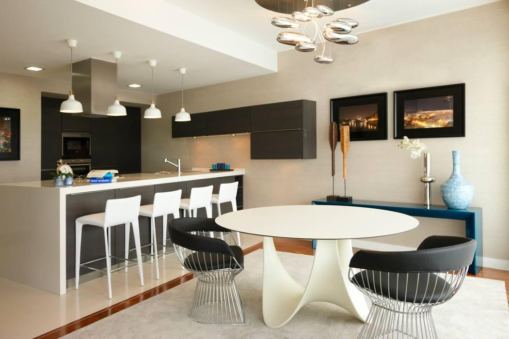 Susana Camelo Modern dining room Black