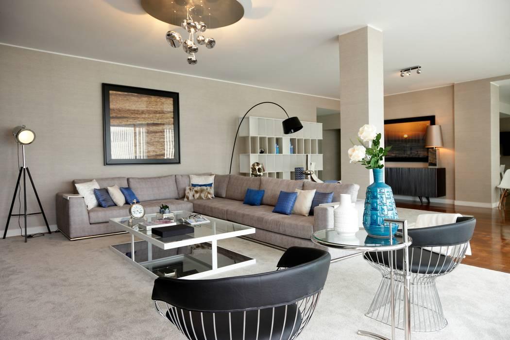 Susana Camelo Living room Blue