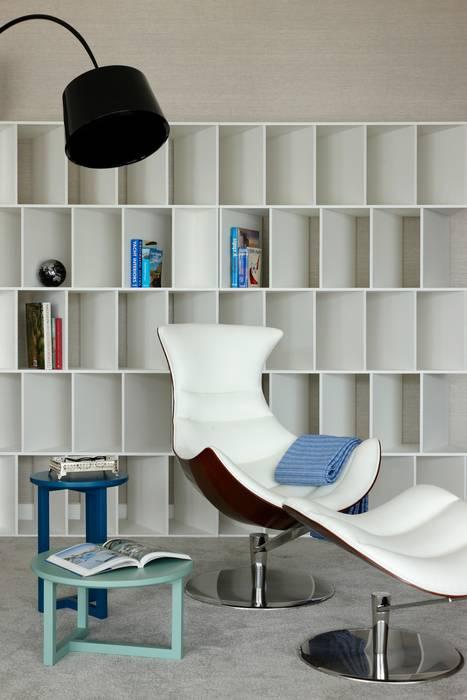Cais do Sodré | 2015 Susana Camelo Salas de estar modernas Azul