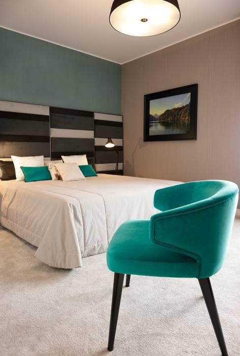 Susana Camelo Modern style bedroom Blue