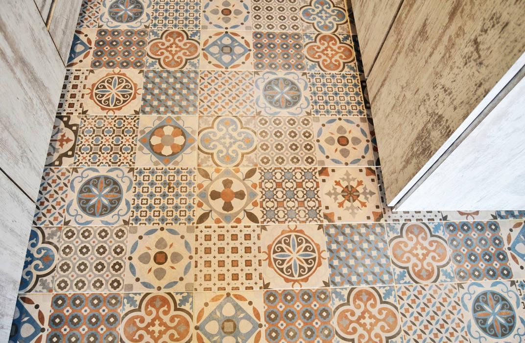 APARTAMENTO 104: Paredes de estilo  por santiago dussan architecture & Interior design