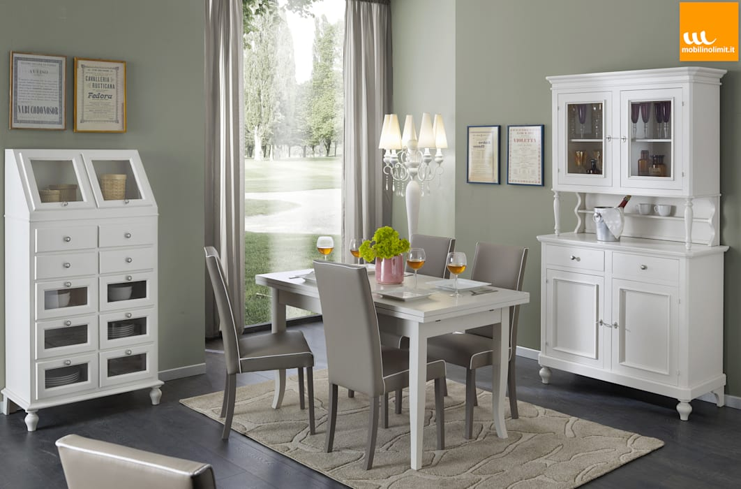 Mobilinolimit Living roomCupboards & sideboards Wood White