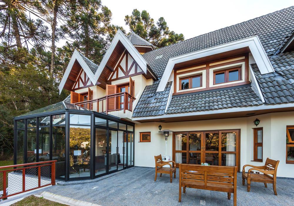 Casa das Primaveras Casas rústicas por VNK Arquitetura e Interiores Rústico