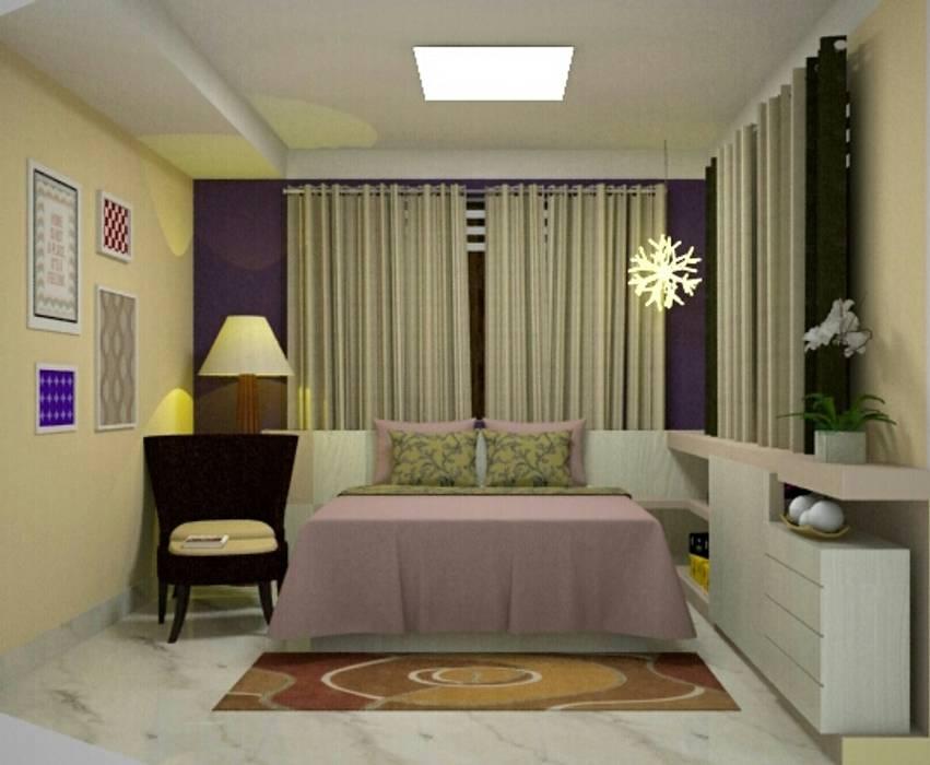 Phòng ngủ phong cách hiện đại bởi Duecad - Arquitetura e Interiores Hiện đại