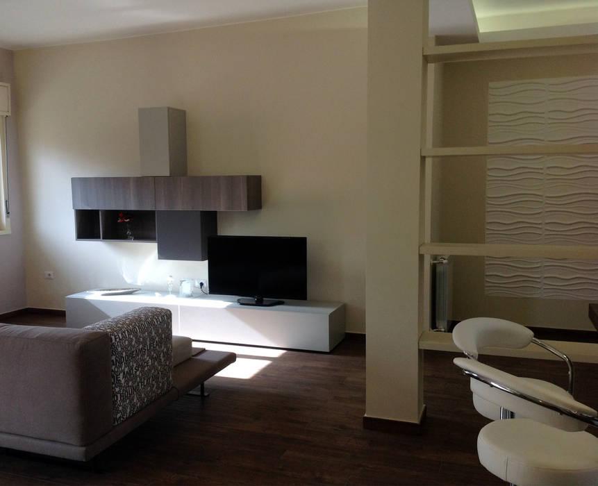 Progetti: soggiorno in stile di vivy lombardo - architetto d ...