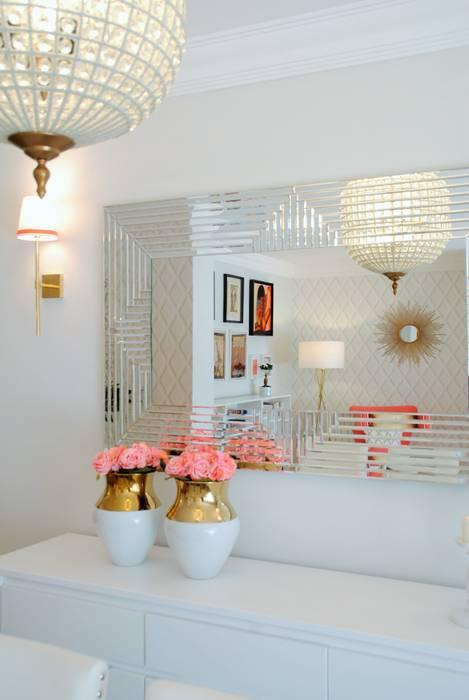 Ruang Keluarga Modern Oleh White Glam Modern