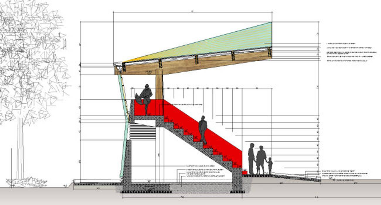 根據 Studio Tecnico Resta e Associati 現代風 複合木地板 Transparent