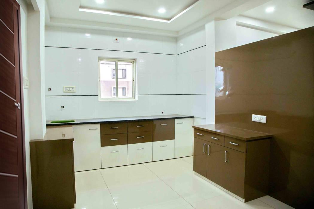 Kitchen Modern kitchen by ZEAL Arch Designs Modern