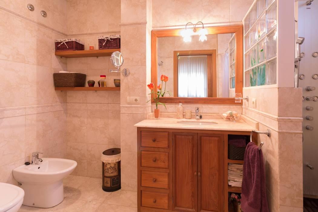 Salle de bain rustique par Narai Decor Rustique