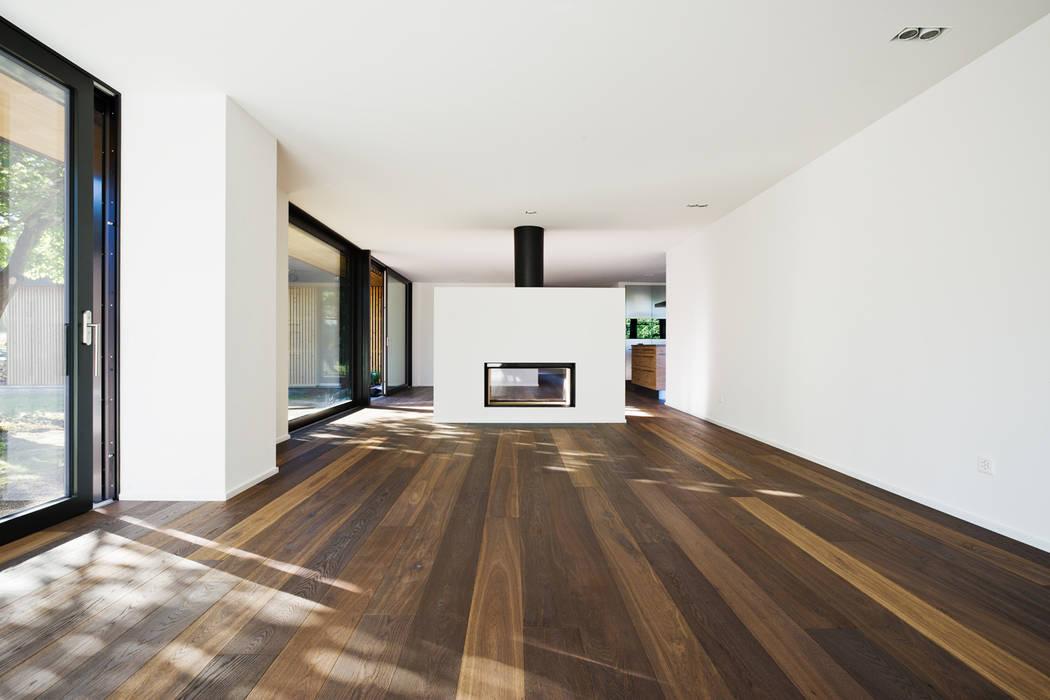 Wohnzimmer Mit Cheminee Wohnzimmer Im Landhausstil Von Giesser Architektur Planung Landhaus Homify