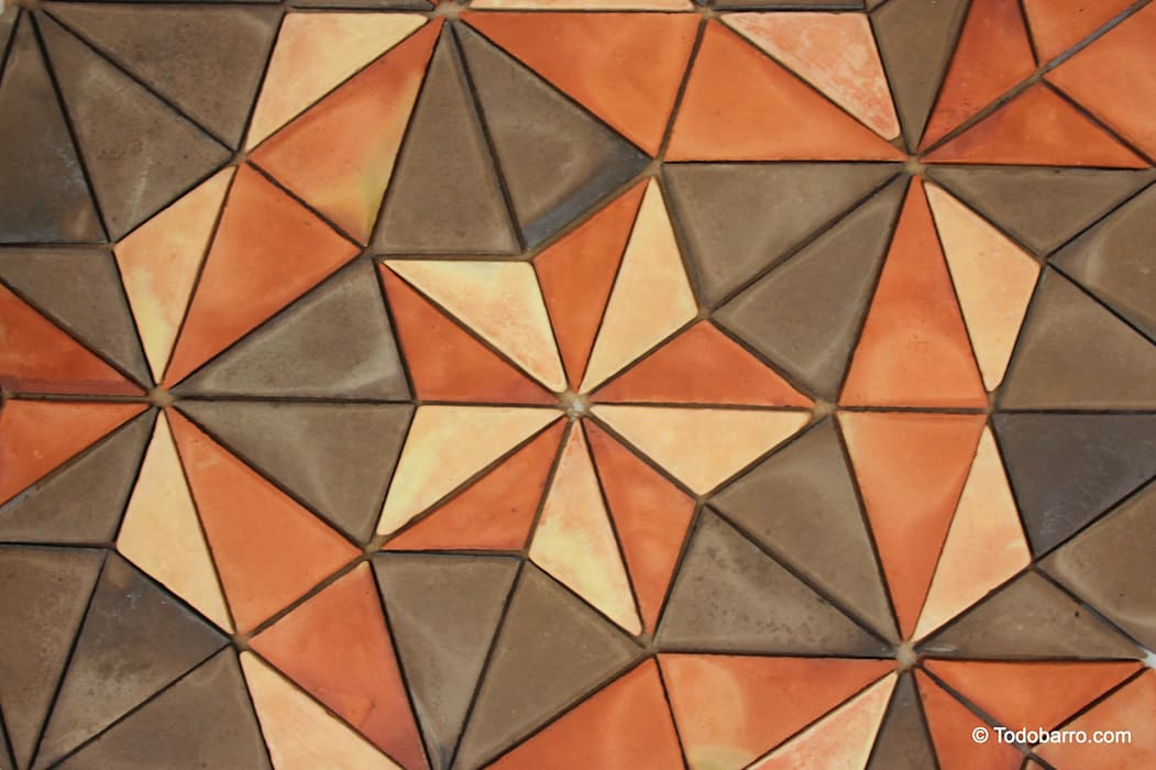 Suelo cerámico de Penrose (3 Tonos 02) de Todobarro Moderno Cerámico