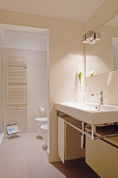 senzanumerocivico Scandinavian style bathroom
