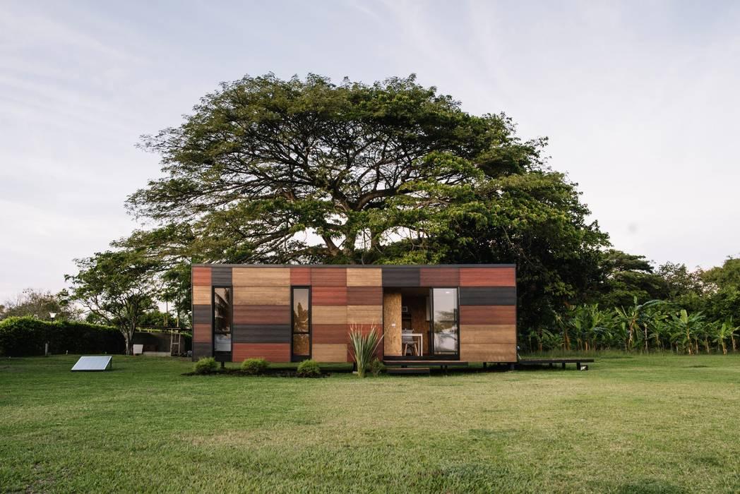 現代房屋設計點子、靈感 & 圖片 根據 COLECTIVO CREATIVO 現代風