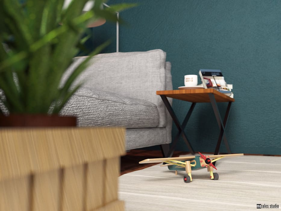 Sala CMJ Livings modernos: Ideas, imágenes y decoración de marianamoraldiseño Moderno